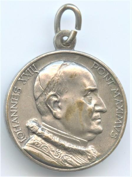 Original Rosenkranzmedaille zur Eröffnung des 2. Vatikanischen Konzils