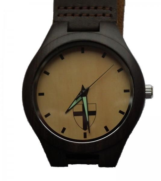 Holz-Armbanduhr