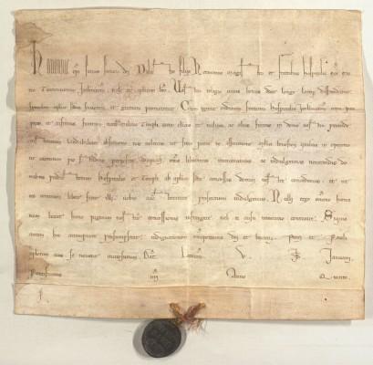Urkunde-Honorius
