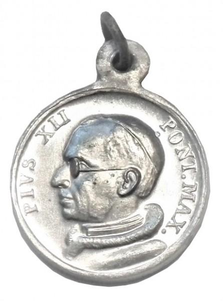 Original Pilgermedaille Papst Pius XII.