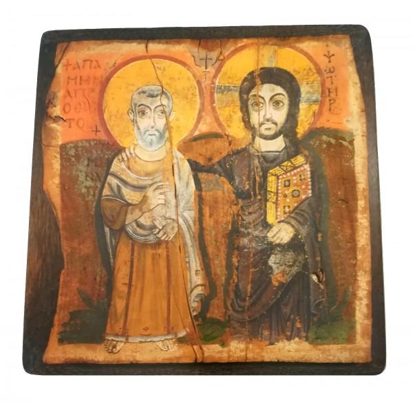 """Ikone """"Christus und sein Jünger"""""""