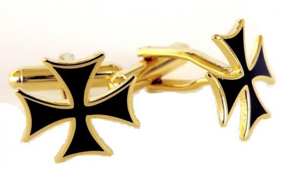 Manschettenknöpfe Ordenskreuz