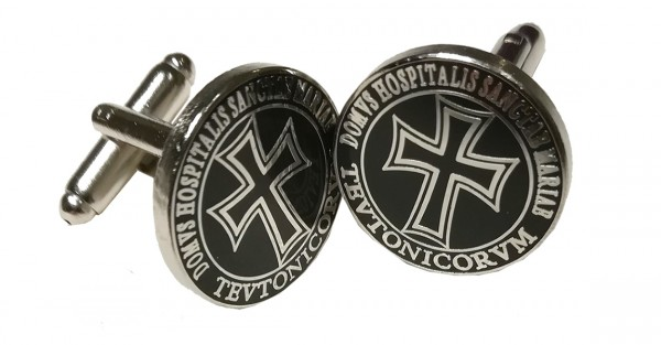 Manschettenknöpfe 'Domus Hospitalis Sanctae Mariae Teutonicorum'