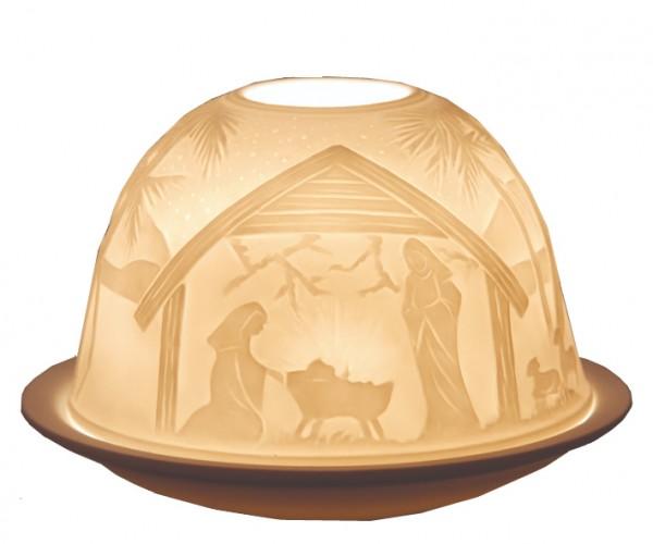 Weihnachts-Windlicht (Light-Dome)
